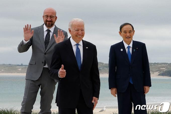 바이든, '도쿄올림픽 개최' 자신한 스가에