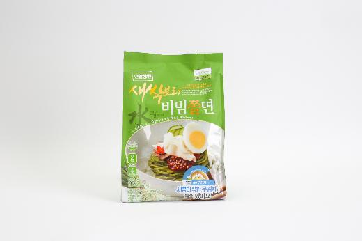 칠갑농산, 새싹보리 쫄면 이색 품목으로 차별화
