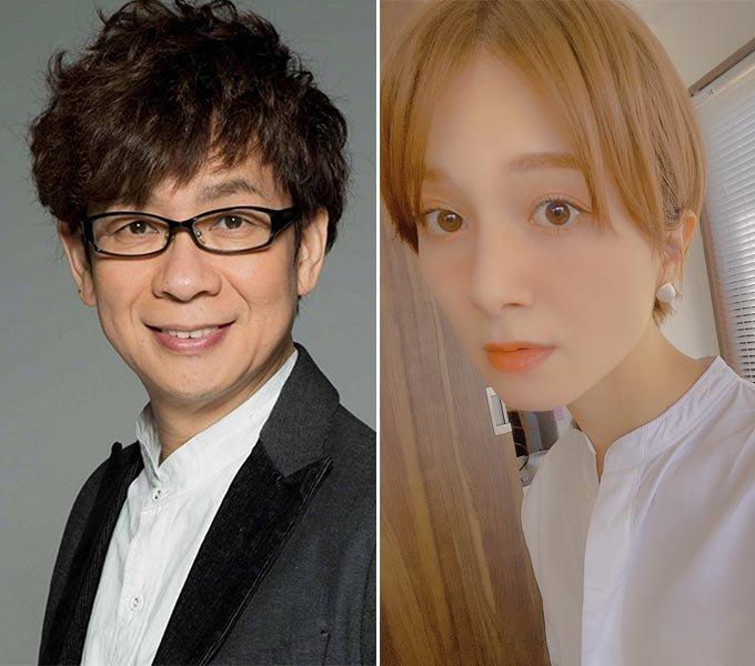 일본 성우 야마데라 코이치, 그라비아 아이돌 출신 배우 오카다 로빈 쇼코/사진=각 스타 트위터