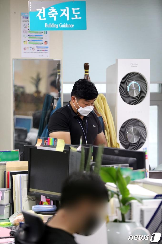 [사진] 광주 동구청 압수수색