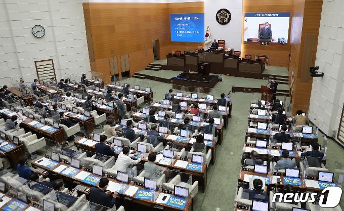 [사진] 서울시의회 제301회 정례회 개회식
