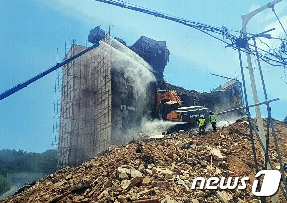 '광주 건물 붕괴사고' 굴착기 기사 등 2명 구속영장(2보)
