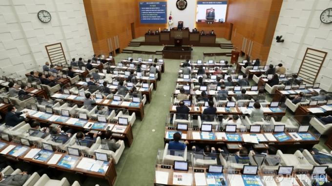 [사진]개회된 제301회 정례회 1차 본회의