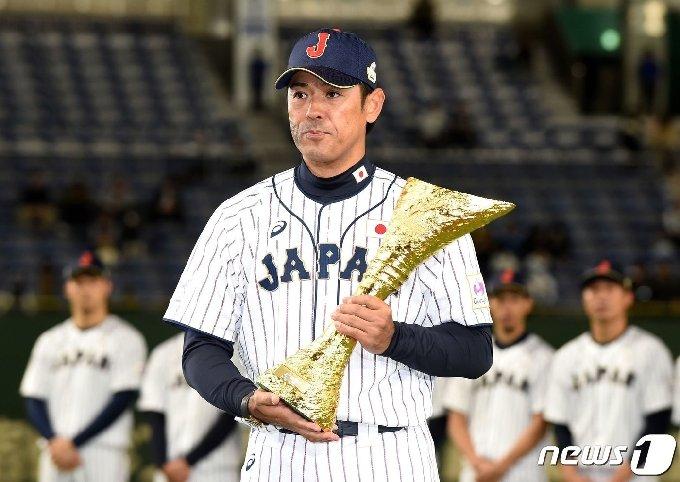 일본야구대표팀 이나바 아쓰노리 감독.© AFP=뉴스1