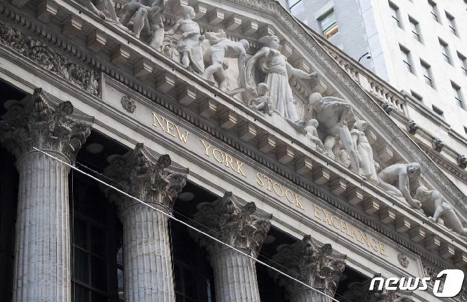 뉴욕증시 하락마감…S&P500-나스닥 사상 최고서 내려와