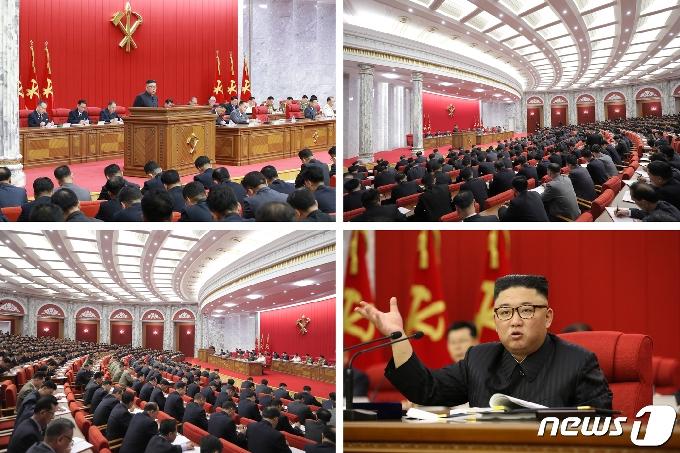 [사진] 북한, 전원회의 개막…
