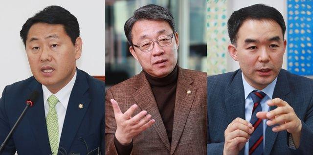 공공정책전략연구소에서 활동하는 김관영, 김성식, 채이배 전 의원(왼쪽부터). /사진=머니투데이.