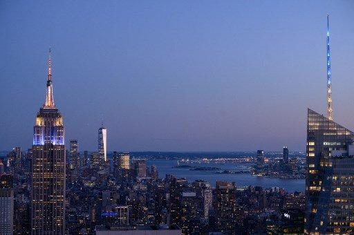 미국 뉴욕 맨해튼 /사진=AFP