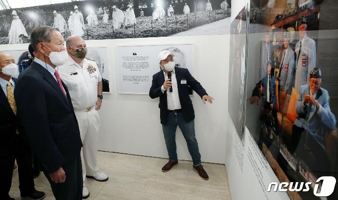 [사진] 참전용사들의 늠름한 모습