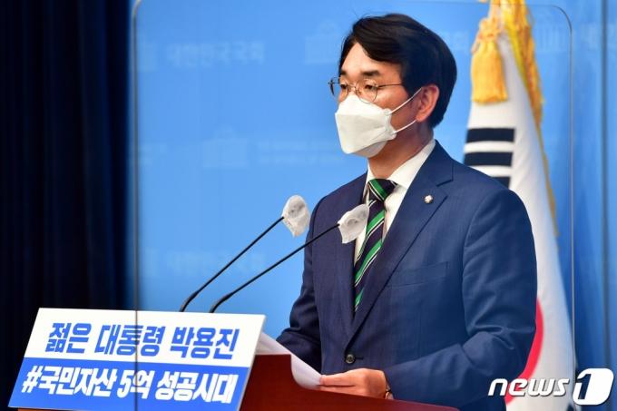 """박용진 """"윤석열 '전언정치', 지금이 5공이냐…전형적 꼰대정치"""""""