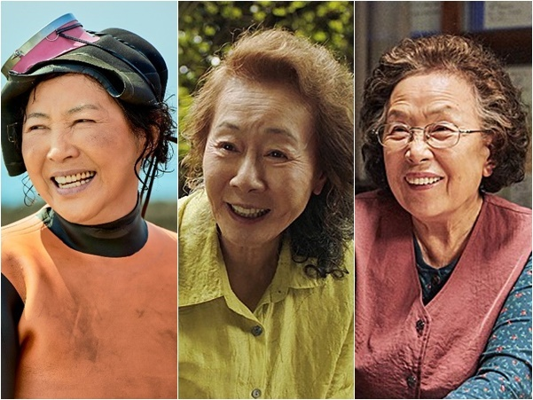 고두심·윤여정·나문희, 70대↑ 여배우들 스크린 활약…'할매니얼 시대'