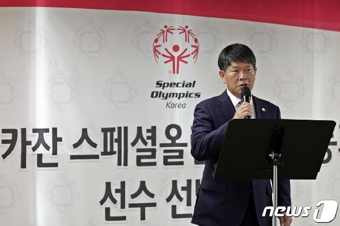 [사진] '카잔 동계 스페셜올림픽 선수 선발식'