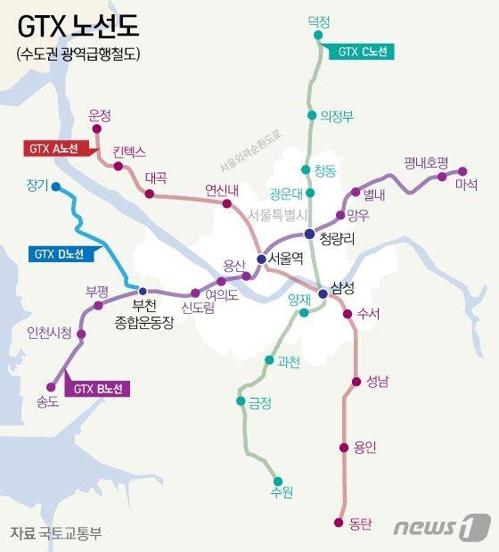 GTX-C, 은마아파트 통과에 부글부글…안산도 '울상'