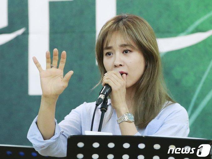 뮤지컬 배우 옥주현© News1