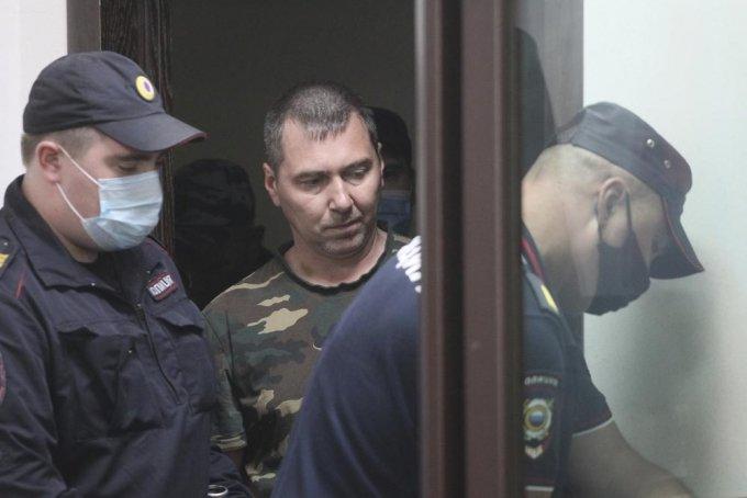 러시아에서 갑자기 사라진 30대 미국 여성이 실종 나흘 만에 싸늘한 주검으로 발견된 가운데 경찰이 용의자를 검거해 사건 경위를 조사하고 있다. 사진은 숨진 캐서린 시로우를 살해한 혐의를 받고 있는 알렉산드르 포포프. /사진=AP/뉴시스