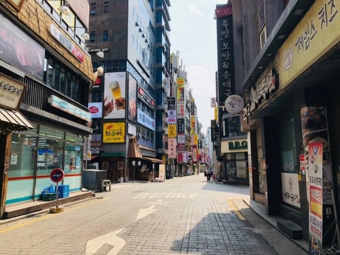 서울 종로 먹자골목 전경./사진=이재윤 기자