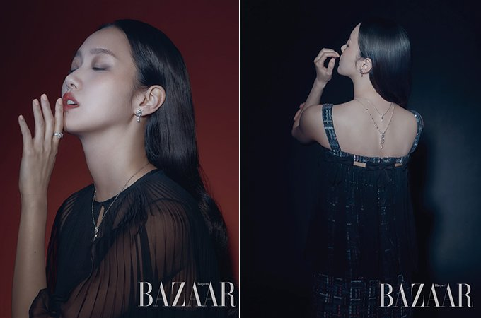배우 김고은 /사진제공=하퍼스 바자