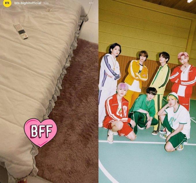 /사진=온라인 커뮤니티, 그룹 방탄소년단 공식 인스타그램