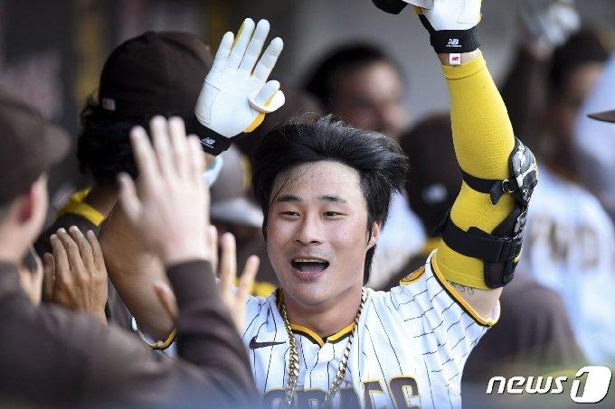 샌디에이고 김하성.© AFP=뉴스1