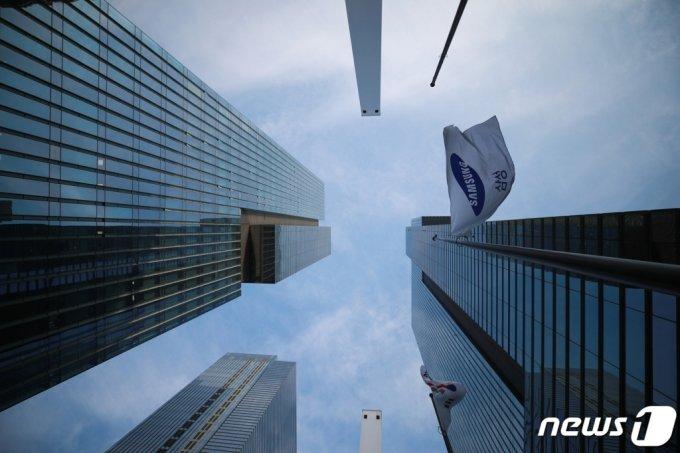 (서울=뉴스1) 사진공동취재단 = 서울 서초구 서초동 삼성사옥 모습. 2020.10.28/뉴스1