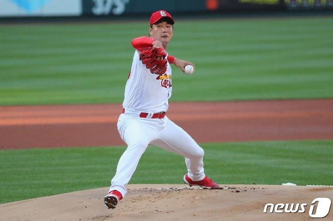 김광현이 시즌 2승에 도전한다. © AFP=뉴스1