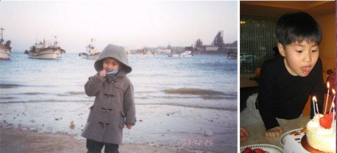 손현씨가 28일 자신의 블로그에 올린 사진들/블로그 캡쳐