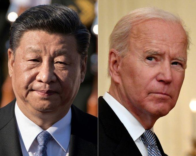 시진핑 중국 국가주석과 바이든 미국 대통령/사진=AFP