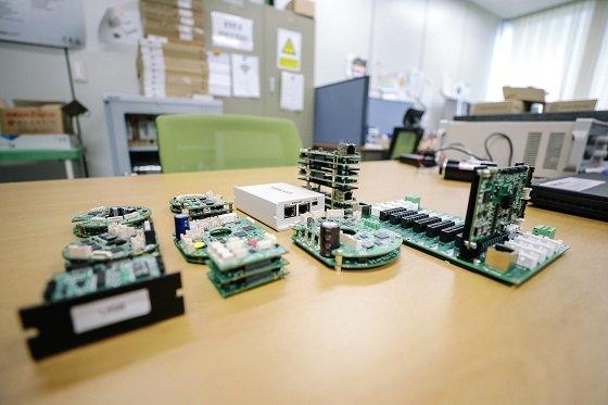 웰콘시스템즈가 생산중인 서보 드라이브/사진=한국생산기술연구원