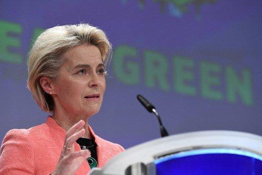 우르줄라 폰 데어 라이엔 EU 집행위원장/사진=AFP