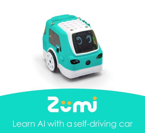 로보링크 AI 자율자동차 로봇 '주미'/사진제공=로보링크