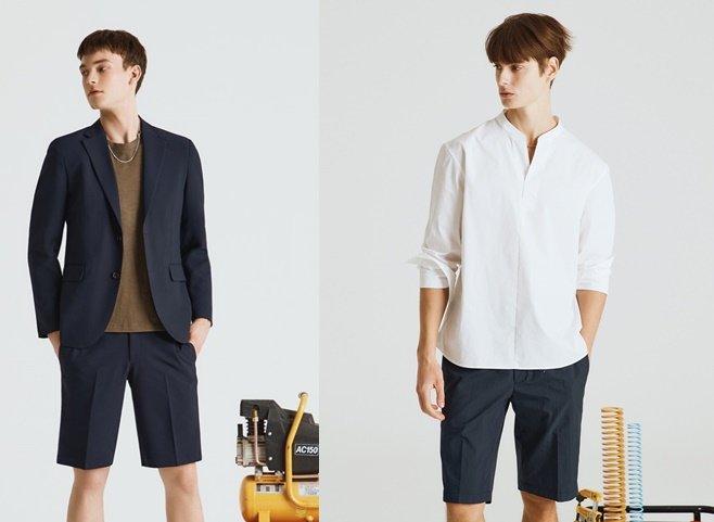 삼성물산 패션부문 엠비오의 올 여름 남성 반바지 스타일링/사진=엠비오