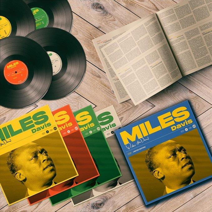 마일스 데이비스의 걸작을 담은 4LP Box Set 넘버링 한정판/사진제공=굿인터네셔널