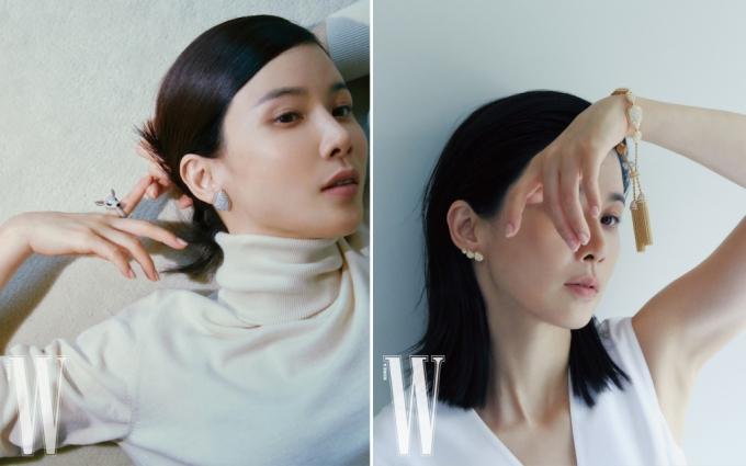 배우 이보영 /사진제공=부쉐론, 더블유 코리아 매거진