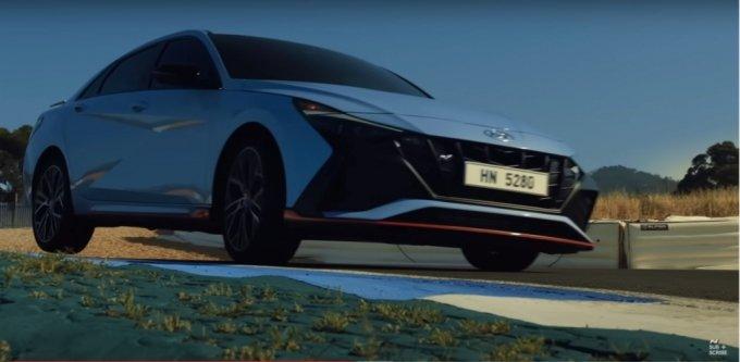 '현대N-올 뉴 엘란트라N 월드 프리미어(Hyundai N-The all-new ELANTRA N World Premiere)' 유튜브/사진=유튜브 캡처