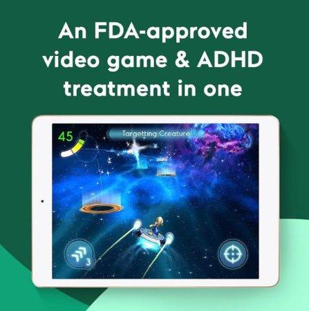 아킬리 인터랙티브사의 게임형 ADHD 디지털 치료제 엔데버Rx 예시화면. /사진=아킬리 인터랙티브