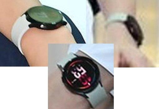 김연경 선수가 착용하고 있던 스마트워치 모습. 갤럭시워치4 렌더링과 일치한다. /사진=샘모바일