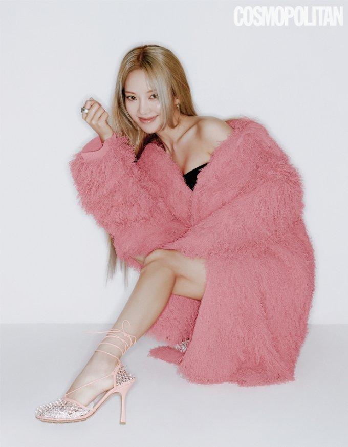 그룹 소녀시대 출신 가수 효연/사진제공=코스모폴리탄