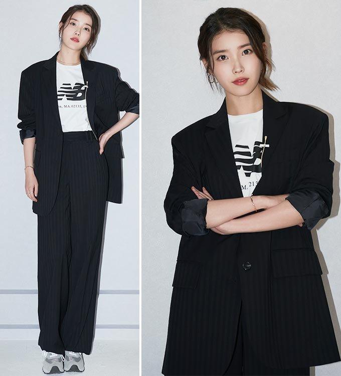 가수 겸 배우 아이유/사진제공=뉴발란스