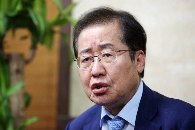 홍준표 국민의힘 의원. 2021.07.20. /사진제공=뉴시스