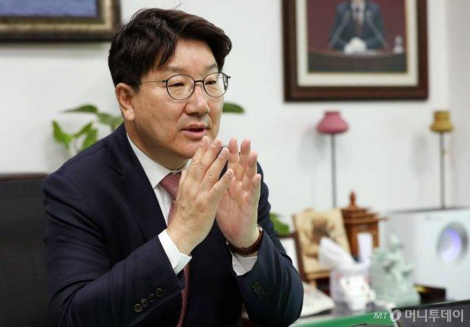 권성동 국민의힘 의원. /사진=김휘선 기자 hwijpg@