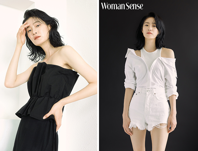 '서울대 출신' 옥자연, 어깨 드러내고 과감…