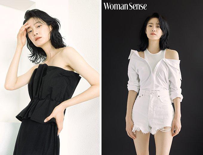 배우 옥자연 /사진제공=우먼센스