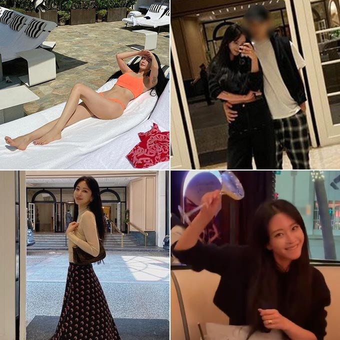 배우 한예슬이 공개한 미국 여행 사진들./사진=한예슬 인스타그램
