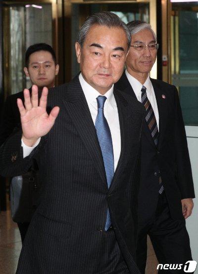 왕이 중국 외교부장./사진=뉴스1