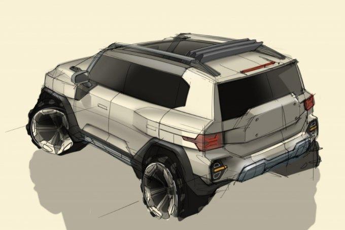 쌍용차, 미래 비전 담은 차세대 SUV 'KR10' 디자인 공개