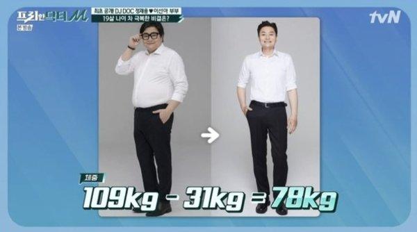 그룹 DJ DOC 정재용/사진=tvN '프리한 닥터'