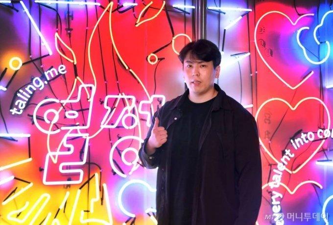 14일 김윤환 탈잉 대표 인터뷰 /사진=홍봉진기자 honggga@