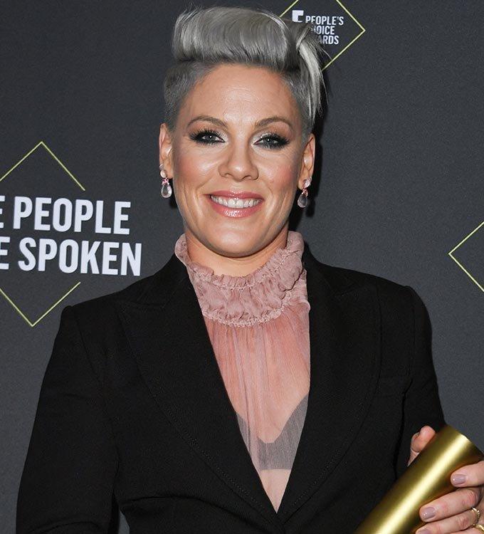 노르웨이 여자 비치핸드볼 대표팀에게 부과된 벌금을 대신 내겠다는 의사를 밝힌 팝 가수 핑크./사진=AFP/뉴스1