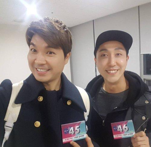 개그맨 박수홍, 손헌수(오른쪽)/사진=박수홍 인스타그램