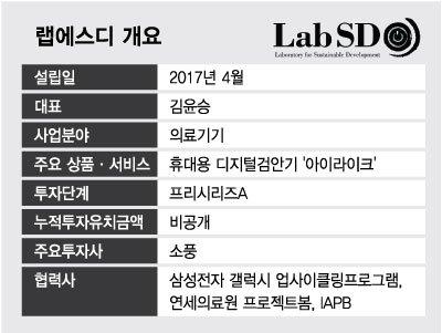 삼성이 지원하니 검안기 가격 50분의 1로 '뚝'…AI로 실명도 예방